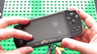 Unboxing Portable 4.3 inch TFT 4GB MP5 Player Game Console