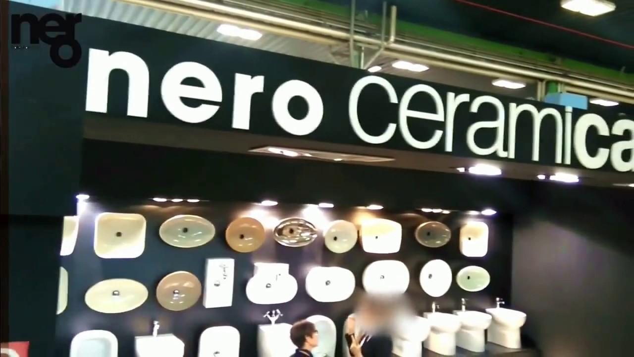 Nero Ceramica Civita Castellana.Nero Ceramica Cersaie 2016