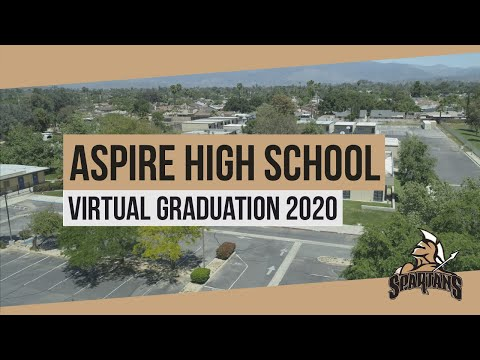 Aspire Community Day School 2020 Virtual Graduation Ceremony