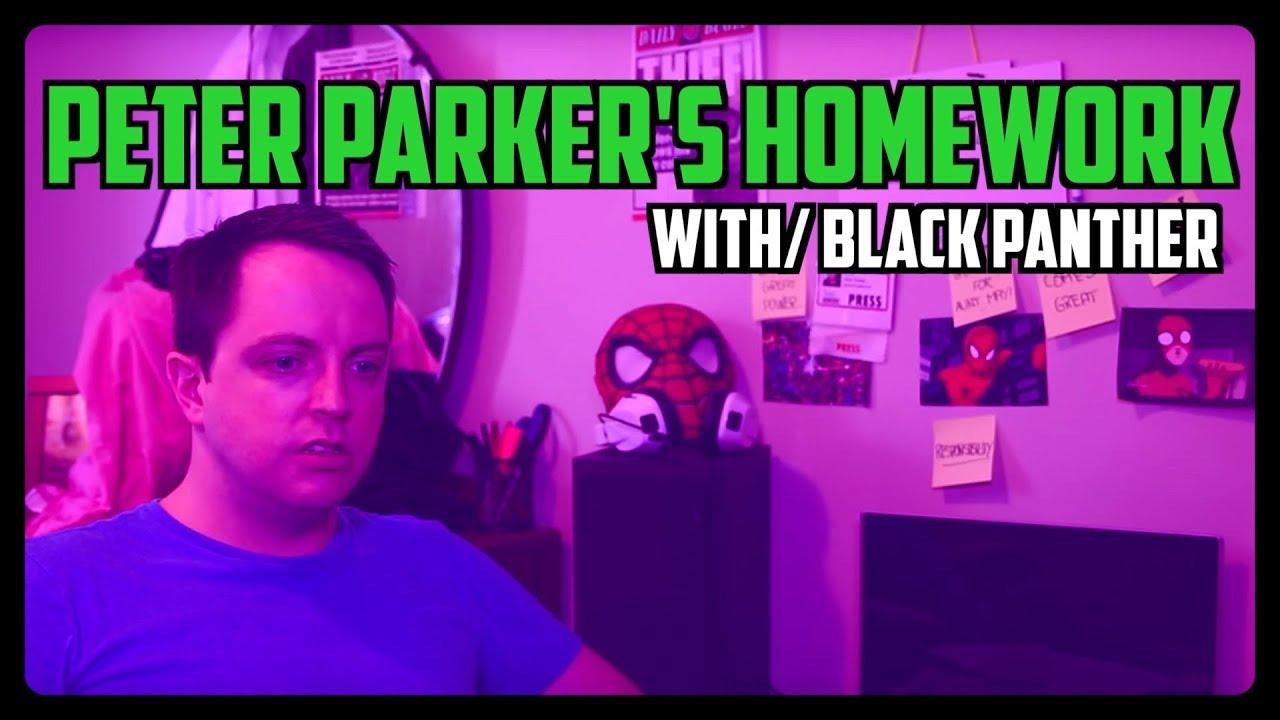 Sketch From Superheroes: Peter's Homework (Black Panther)
