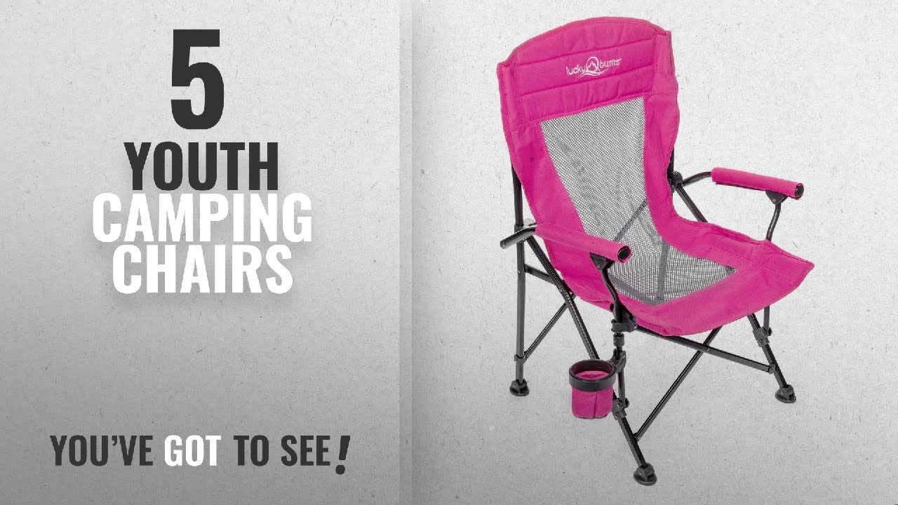 Youth Folding Chair Rent Tables And Chairs For Party Top 5 Camping 2018 Lucky Bums Arm Youtube Premium