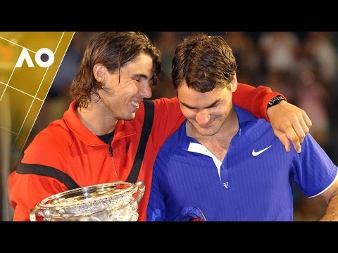 An oldie but goodie... Fedal <3 (Australian Open 2009)