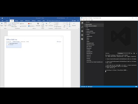Sideloading Office Add-ins into Office Desktop or Office Online