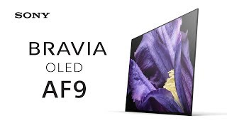 First Look: BRAVIA OLED AF9 – MASTER Series TV thumbnail