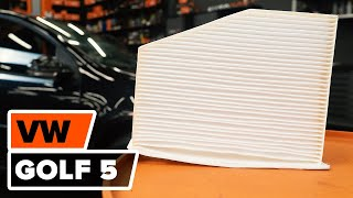 Skifte Klimafilter VW GOLF V (1K1) - videoopplæring