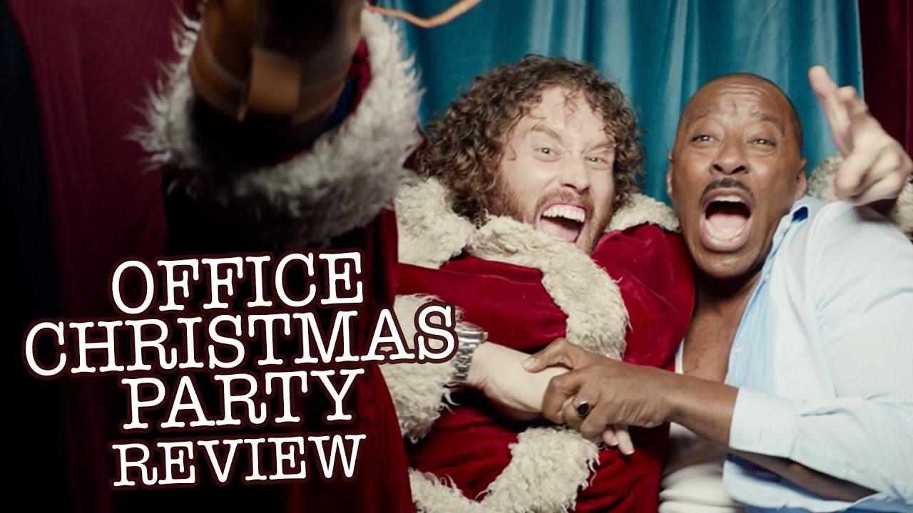 Office Christmas Party Review - Jason Bateman, Olivia Munn, T.J. ...