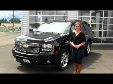 Virtual Walk Around Video Of A 2008 Chevy Tahoe LTZ At Gilchrist Buick GMC In Tacoma