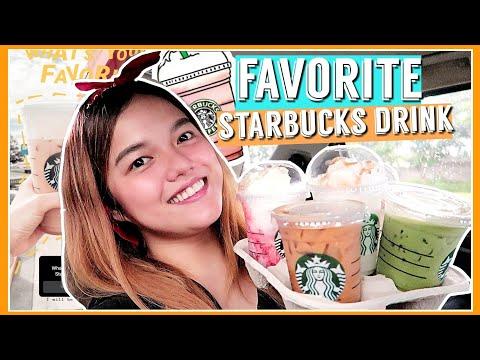 TRYING MY SUBSCRIBERS FAVORITE STARBUCKS DRINKS! (BAGONG PABORITO!)   Philippines