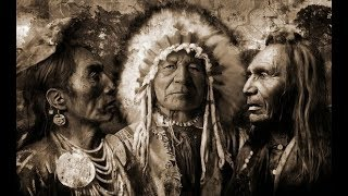 Powerful Drums Shaman Magical Mandala Meditation Trance Drumming Native American Fire