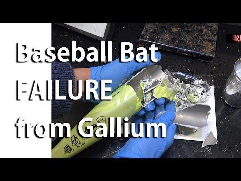 Gallium Induced Structural Failure of an Aluminum Baseball Bat