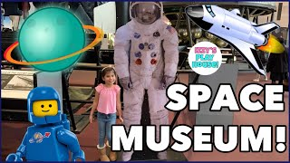 AIR AND SPACE MUSEUM! Washington, DC | Indoor Activities for Kids | Izzy's Playhouse!