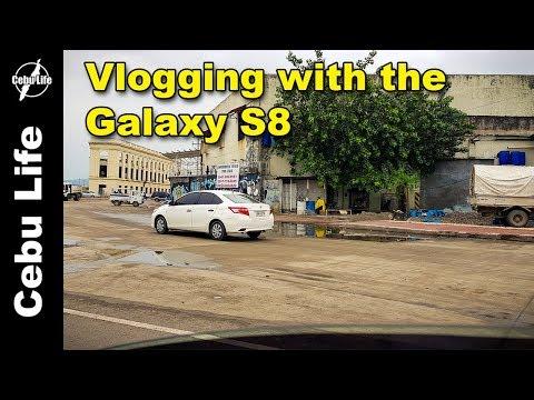 Vlogging with the Galaxy S8 | City of Naga | Cebu Life S02E29