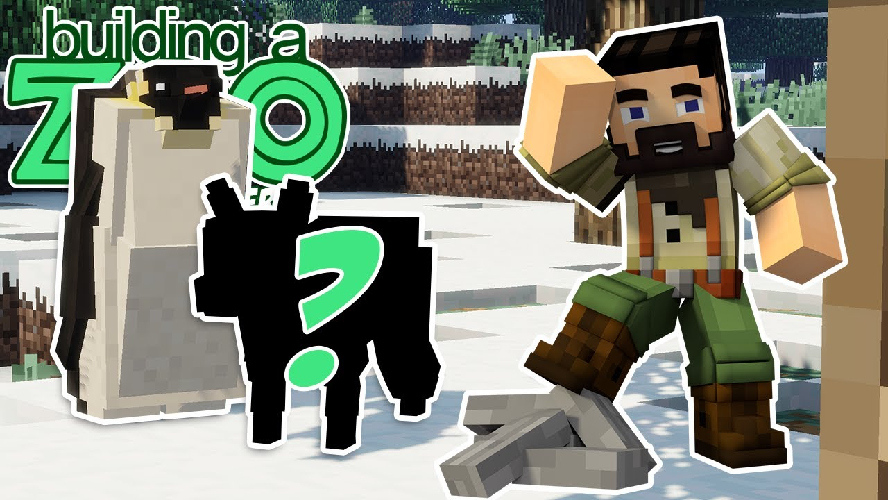 New Animals Added! - I'm Building A Zoo In Minecraft Again! - EP06