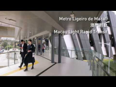 Macao: Our very first rapid transit system, the Light Rapid Transit