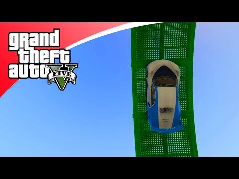 GTA V Online - PAS OP VOOR DE TREIN! (GTA 5 Funny Jobs)