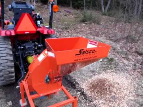 Salsco 600-PTO Chipper Try Out