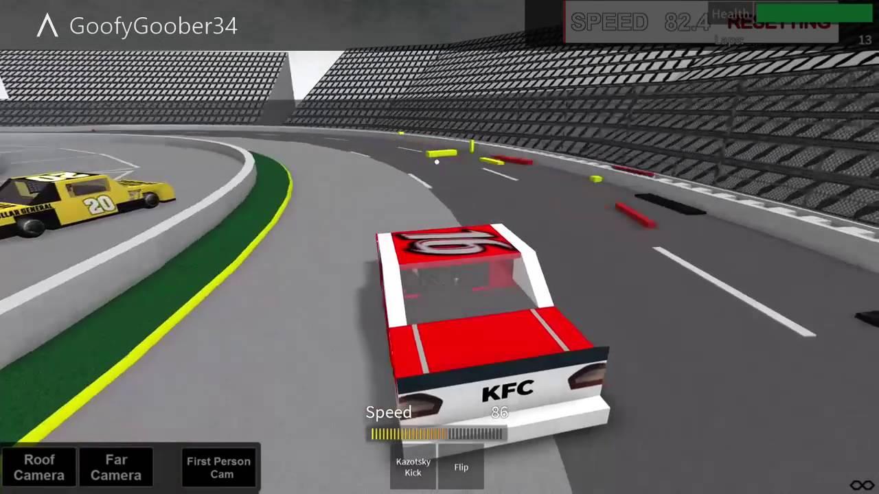 roblox nascar racing games