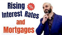 How rising interest rates impact Canadian mortgage rates