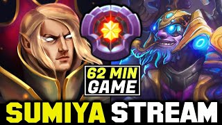 Super Hard 62min Game VS Master Tier Tinker | Sumiya Invoker Stream Moment #1557