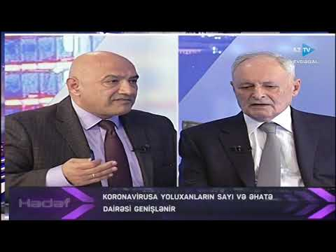 Hədəf - 24.03.2020 (Azərbaycan Respublikası Səhiyyə Naziri Oqtay Şirəliyev )