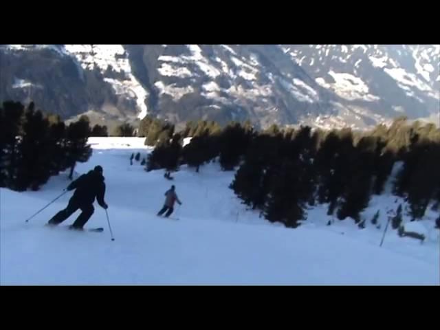 Wintersport abfahrt december 2009 (one-video-shot)