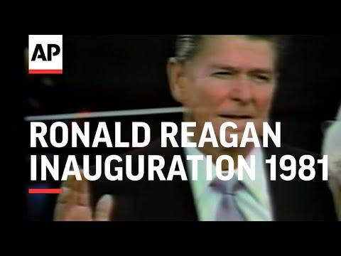Inauguration of President Ronald Reagan 1981, Part 1