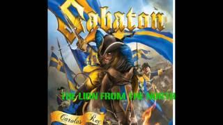 Sabaton - The lion from the north (Lyrics in description)