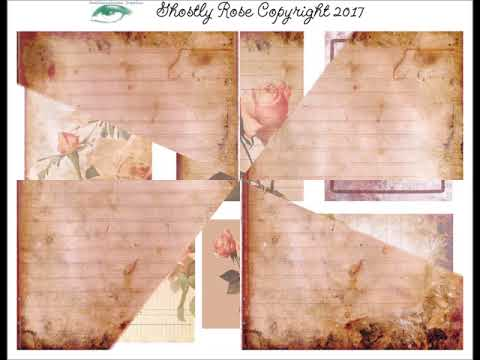 The Stash Depot & Soulniquelyyou Graphics : Ghostly Rose Digital Journal Collection