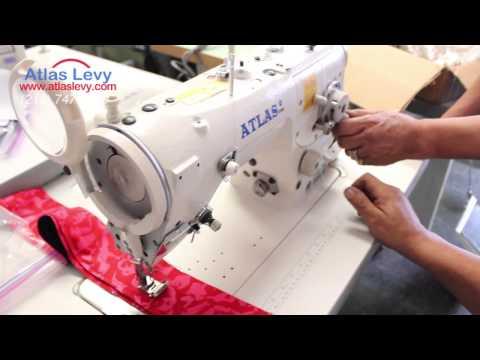 3 Step Zig Zag Sewing machine Atlas USA AT2284 - Sample #2