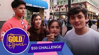 FIFTY DOLLARS NA PANG SHOPPING? CHALLENGE ACCEPTED!   The Gold Squad