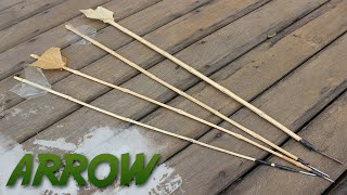 How to make a Bamboo Arrow