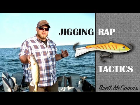 Jigging Rap Tactics — Targeting The Biggest Walleyes In The Lake