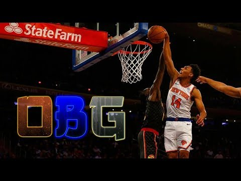 Knicks FULL GAME Highlights vs Hawks (10/17/18) NY Wins + Allonzo Trier's HUGE Dunk!