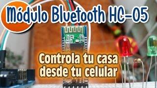 Controla tu Casa desde tu Celular - Modulo Bluetooth HC 05 - Instalacion y Configuracion - Parte1