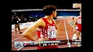 Paweł Czapiewski M.E. w hali Wiedeń 2002 pół finał.MP4