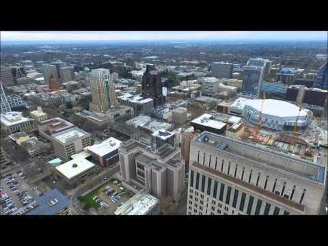 Sacramento Ca Drone Video