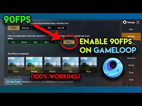 How to get 90 FPS in PUBG Mobile Emulator Gameloop