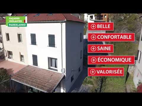 Vidéo Les bénéfices des façades isolantes Parexlanko