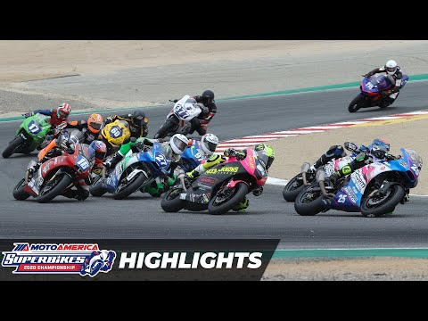 MotoAmerica Twins Cup Race Highlights at Laguna Seca 2020