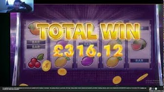 Super Win on Fruit Stack slots @PADDYPOWER GAMES