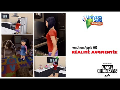 The Sims Freeplay - Réalité augmentée (IOS 12)- Accès anticipé