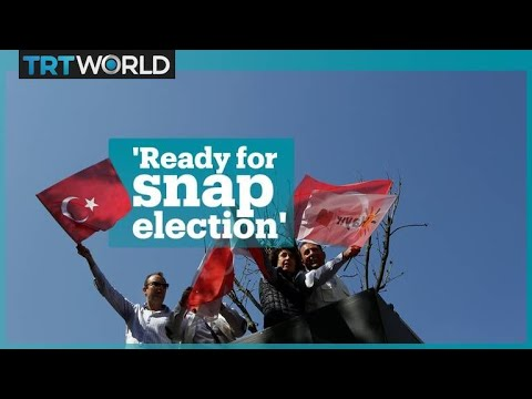 Opposition parties' reactions to Turkey's snap elections