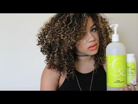 My CURLY Hair Routine Using DEVACURL Products | Wanda Mulzac