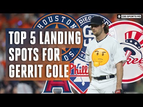Gerrit Cole to the Yankees? Top 5 Landing Spots for MLB Free Agent Gerrit Cole   CBS Sports HQ