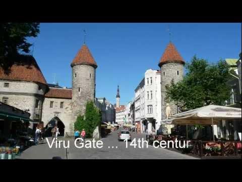 Tallinn Estonia Old Town Churches Towers Travel