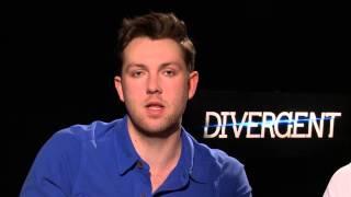 Divergent Interview Christian Madsen and Ben Lloyd Hughes