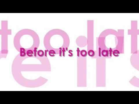 Westlife - Before It's Too Late (Lyrics Video)
