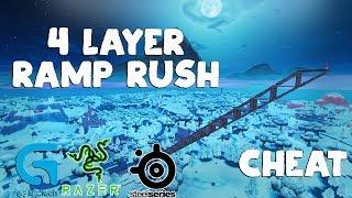 4 Layer Ramp Rush Macro Tutorial Fortnite