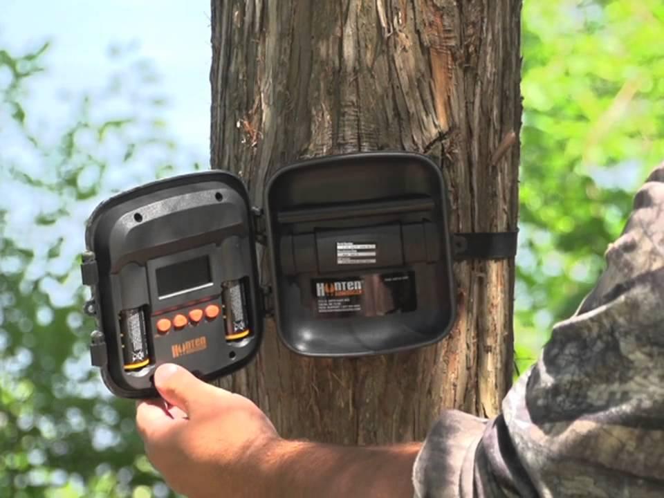 hunten outdoors gsc35 50ir 5 0mp black flash ir game camera youtube rh youtube com