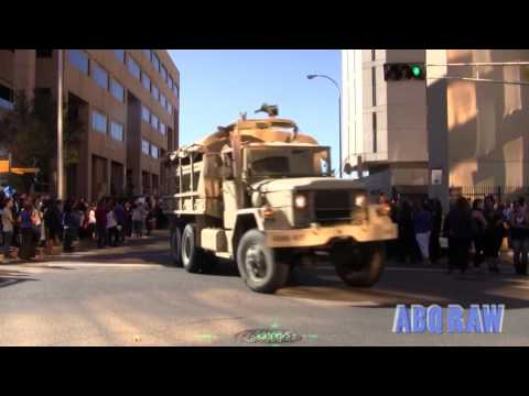 Albuquerque Police Officer Daniel Webster Final dispatch and Police Procession Part II ABQ RAW